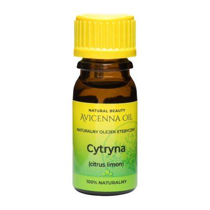 100% naturalny olejek eteryczny aromaterapia avicenna cytryna citrus limon lemon inhaalacja odswierzenie naturalny rozjasniacz