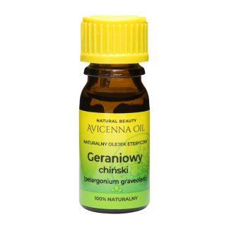 100% naturalny olejek eteryczny aromaterapia avicenna oil geranium geraniowy chinski pelargonia przeciwbakteryjny bol glowy przeciwwirusowy opryszczka