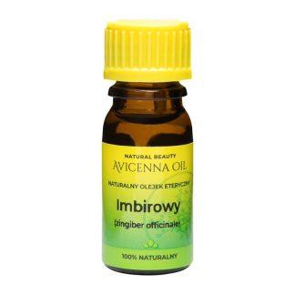 100% naturalny olejek eteryczny aromaterapia avicenna oil imbir imbirowy rozgrzewajacy antyseptyczny przeciwzapalny cellulit kaszel katar