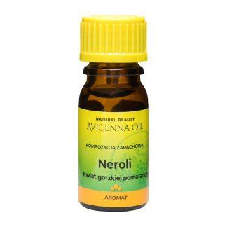 kompozycja zapachowa olejek eteryczny aromat aromaterapia avicenna neroli kwiat gorzkiej pomaranczy