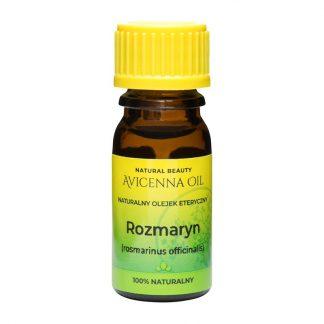 100% naturalny olejek eteryczny rozmaryn rozmarynowy avicenna oil medycyna naturalna inhalacje lecznicze masaż cellulit tradzik rosmarinus
