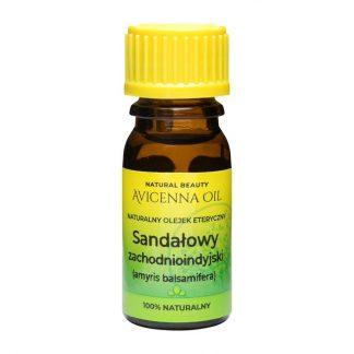 100% naturalny olejek eteryczny sandalowy sandałowy zachodnioindyjski inhalacje suchy kaszel relaks masaz zmeczenie