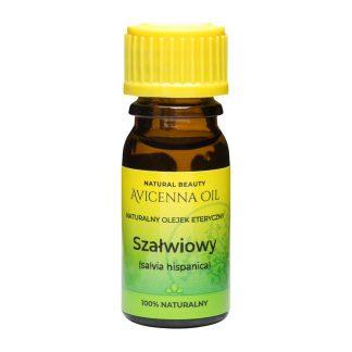 100% naturalny olejek eteryczny gardło aromaterapia avicenna oil szałwiowy salvia hispanica kapiel inhalacja