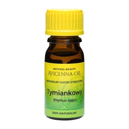 100% naturalny olejek eteryczny kapiel masaz aromaterapia inhalacje avicenna tymianek tymiankowy thymus zygis