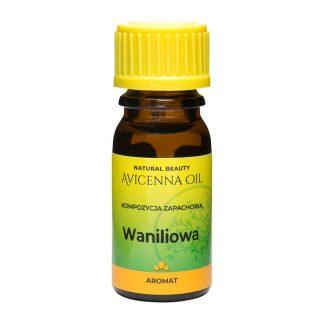 kompozycja zapachowa wanilia olejek eteryczny aromat aromaterapia avicenna oil masaz