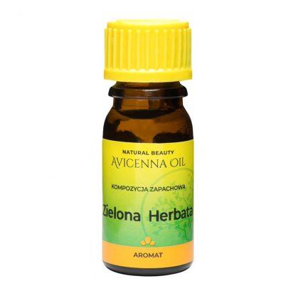 kompozycja zapachowa olejek eteryczny aromat aromaterapia green tea