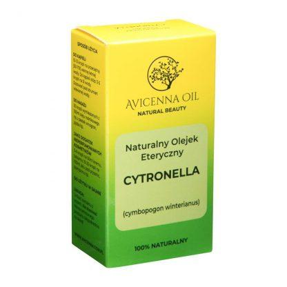 citronella oil cytronellowy 100% natural naturalny poparzenia sunburn